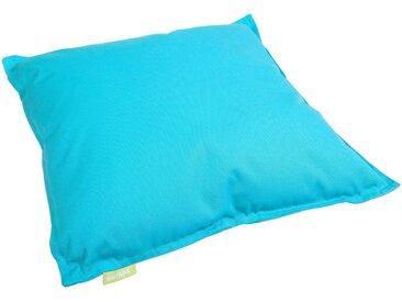 OUTBAG Kissen »Cushion 50/50 Plus«, Indoor / Outdoor geeignet, blau, blau