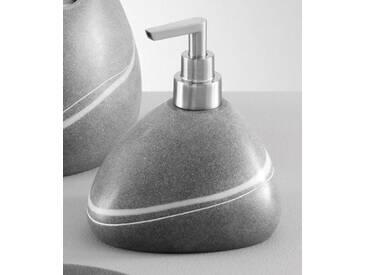 Zeller Present Zeller Seifenspender »Stein-Optik«, grau, grau