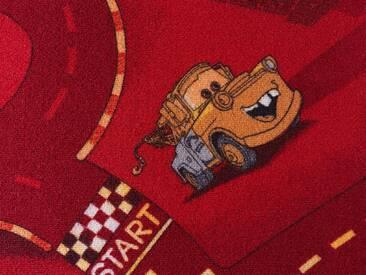 Andiamo ANDIAMO Teppichboden »Cars«, Breite 400 cm, rot, rot