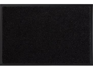 HANSE Home Fußmatte »Garden Brush«, rechteckig, Höhe 9 mm, schwarz, 9 mm, schwarz