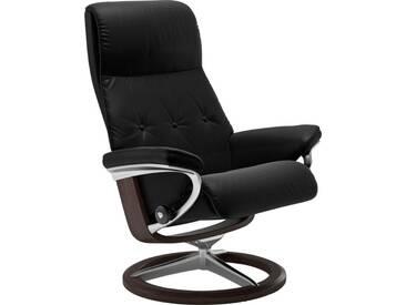 Stressless® Relaxsessel »Sky« mit Signature Base, Größe S, Gestell wengefarben, schwarz, black BATICK