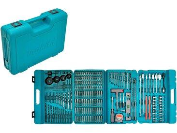 Makita MAKITA Bohrer- und Bit-Set »P-44046«, 216-tlg., blau, blau