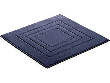 Vossen Badematte »Feeling« , Höhe 10 mm, fußbodenheizungsgeeignet, blau, 10 mm, cadet blue