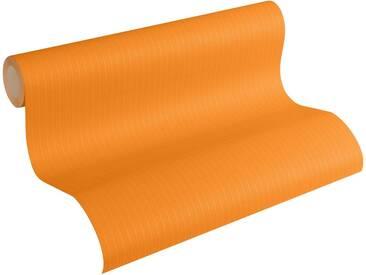 Esprit Vliestapete, »fein strukturierte Kids Tapete Tractors«, orange, orange