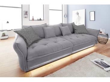 INOSIGN Big-Sofa »Palladio«, grau, 295 cm, hellgrau