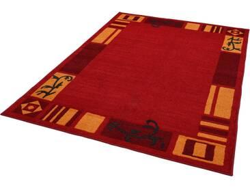 THEKO Teppich »Versailles 7098«, rechteckig, Höhe 11 mm, rot, 11 mm, rot