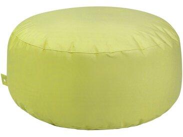 OUTBAG Sitzsack »Cake Plus«, wetterfest, für den Außenbereich, Ø: 115 cm, grün, grün