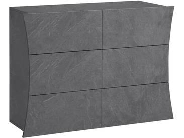 Tecnos Kommode »Arco«, Breite 111 cm, grau, zementfarben