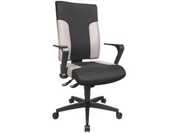 TOPSTAR Bürostuhl ohne Armlehnen »Two 20«, schwarz-grau