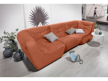 DOMO Collection DOMO Collection Big Sofa, Orange, Orange