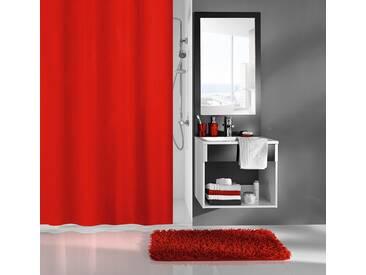 Kleine Wolke MEUSCH Duschvorhang »Kito«, Breite 180 cm, rot, rot