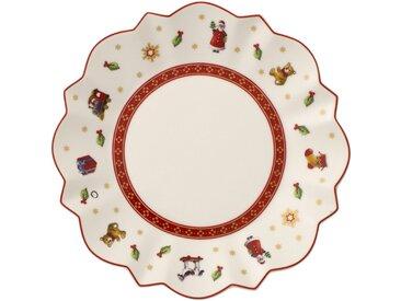Villeroy & Boch Toy's Delight Brotteller »Toy's Delight«, weiß, 17,00 cm, weiß,rot