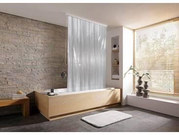 Kleine Wolke KLEINE WOLKE Duschvorhang »Rollo«, schmal, 53 cm Breite, weiß, weiß