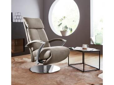 W.SCHILLIG Relaxsessel »kronos« mit Drehteller, grau, stone Z59