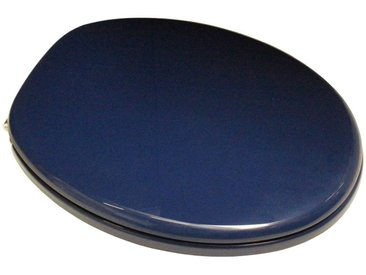 ADOB WC-Sitz »Capri«, mit Messing verchromten Scharnieren, blau, blau