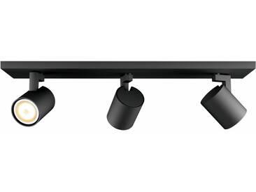 Philips Hue LED Deckenstrahler »Runner«, 3-flammig, Smart Home, schwarz, 3 -flg. /, schwarz