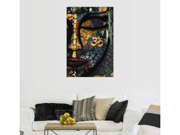 Posterlounge Wandbild - Christine Ganz »Im Buddha Land«, bunt, Leinwandbild, 120 x 180 cm, bunt