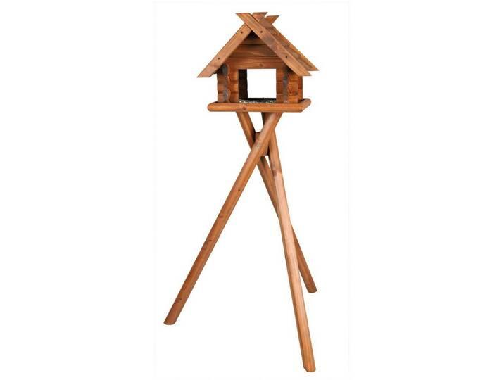 TRIXIE Vogelhaus »Blockbohlen«, mit Standbein, ...