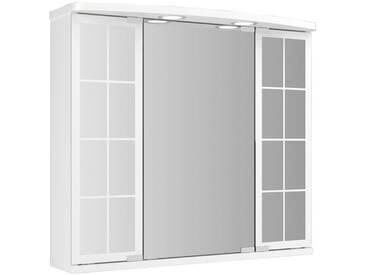 jokey JOKEY Spiegelschrank »Landhaus Binz«, weiss, 67,5 cm Breite, weiß, weiß