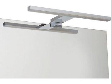 Loevschall Spiegelleuchte »LED Aufsatzleuchte Lagan«, Breite 31 cm, silberfarben, silberfarben