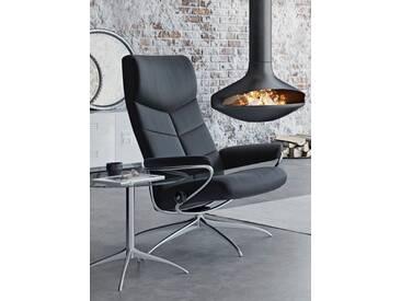 Stressless® Hochlehner Relaxsessel »Dublin« mit Star Base, in 2 Höhen, mit Schlaffunktion, schwarz, Standard Base, black BATICK
