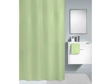 Kleine Wolke KLEINE WOLKE Duschvorhang »Kito«, 120 cm Breite, grün, grün