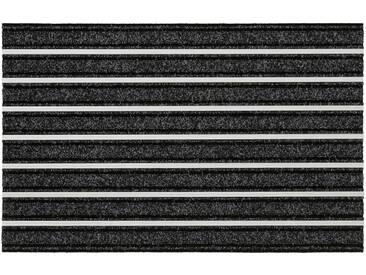HANSE Home Fußmatte »Alustar«, rechteckig, Höhe 13 mm, schwarz, 13 mm, schwarz