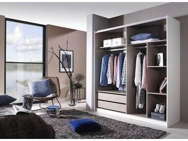 rauch PACK´S Kleiderschrank »Maintal«, weiß, 180 cm, mit 2 Schubkästen, Mittelseite und 3 Extraböden, mit 2 Schubkästen, Mittelseite und 3 Extraböden
