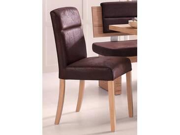 Stühle (2 Stck.), braun, vintage braun