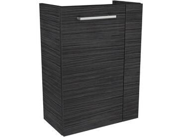 FACKELMANN Waschtischunterbau »Lino«, Breite 44 cm, braun, Türanschlag links, eichefarben dunkel