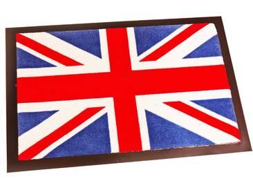 HANSE Home Fußmatte »Union Jack«, rechteckig, Höhe 8 mm, waschbar, bunt, 8 mm, bunt