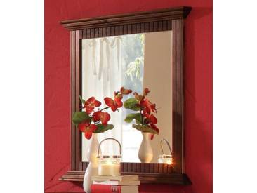 Home affaire Spiegel »Rustic«, braun, (B/H/T): 78/80/5 cm, kolonialfarben