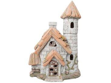 HTI-Line Gartendeko Fairytale »Haus mit Turm«, natur, Natur