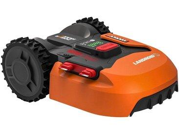 Worx WORX Rasenmähroboter »WR130E LANDROID S300«, bis 300 m² Rasenfläche, mit Akku und Ladestation, orange, orange