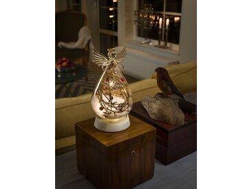 KONSTSMIDE LED Glasfigur Engel, weiß, Lichtquelle warm-weiß, Transparent