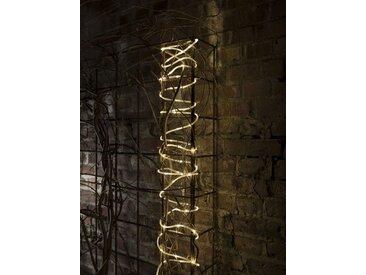 KONSTSMIDE LED Mini Lichterschlauch, weiß, Lichtquelle warm-weiß, Transparent