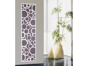 SZ Metall SZ METALL Badheizkörper »Kreta«, weiß, 180 cm, silberfarben/weiß