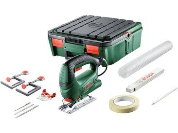 BOSCH Stichsäge »PST 700 ReadyToSaw«, Systembox als mobile Werkbank, grün, grün