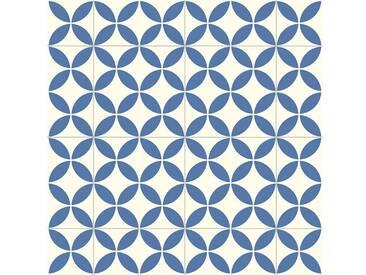 Andiamo ANDIAMO Vinyl-Boden »Trendy«, blau-weiß, blau, 200 cm, blau/weiß