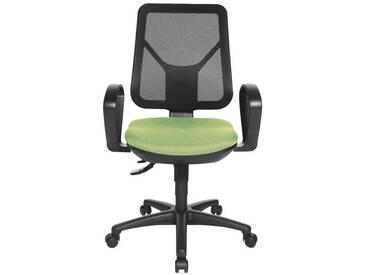 TOPSTAR Bürostuhl ohne Armlehnen »Ergo Net«, grün, grün