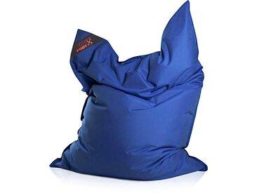 Magma Heimtex Sitzsack »Big Foot«, Indoor / Outdoor geeignet, blau, blau