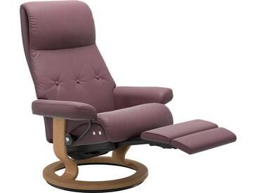 Stressless® Relaxsessel »Sky« mit Classic Base und LegComfort™, Größe L, Gestell naturfarben, lila, purple plum PALOMA
