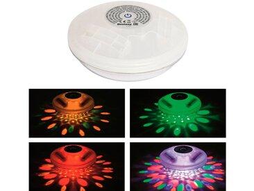 Bestway BESTWAY Poolbeleuchtung »Flowclear™«, Schwimmende LED Ø 14 cm, weiß, weiß