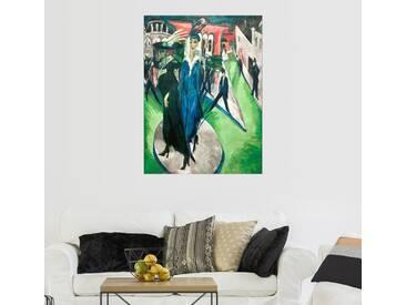 Posterlounge Wandbild - Ernst Ludwig Kirchner »Potsdamer Platz«, bunt, Forex, 100 x 130 cm, bunt