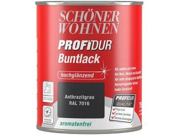 SCHÖNER WOHNEN-Kollektion Schöner Wohnen Farbe Buntlack »ProfiDur seidenmatt, 750 ml anthrazitgrau«, grau, grau