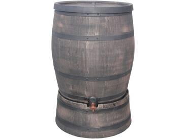 roto ROTO Set: Regentonne BxH 55x74 cm, 120 Liter, inkl. Sockel und Ablaufhahn
