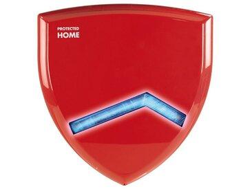 Xavax Außensirene für Funk Alarmanlage FeelSafe, Außenalarm »Alarmsirene Einbruchschutz«, rot, Rot