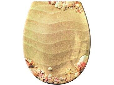 Kleine Wolke KLEINE WOLKE WC-Sitz mit Motiv, natur, sand