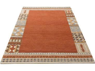 Theko Exklusiv Teppich »Nuno«, rechteckig, Höhe 14 mm, braun, 14 mm, terra