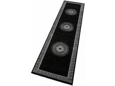 LALEE Läufer »Aura 776«, rechteckig, Höhe 15 mm, schwarz, 15 mm, schwarz